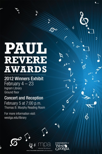 Paul Revere Awards poster